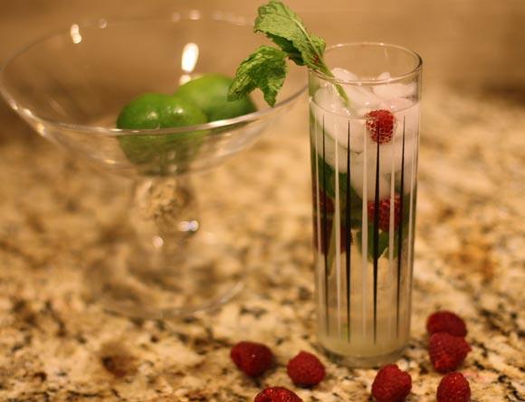 Mojito-raspberry