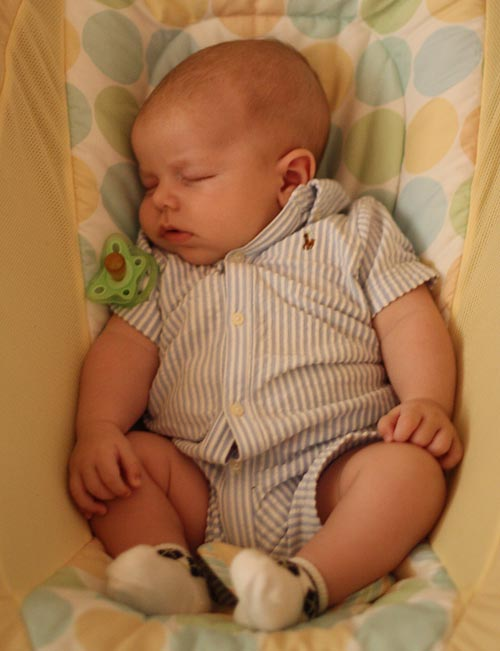 training Your Baby Fall Asleep