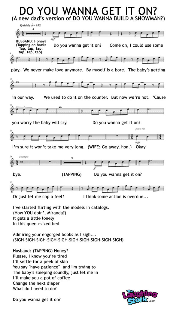 Lyric songs about sex lyrics : How a New Dad Might Tweak the Lyrics of
